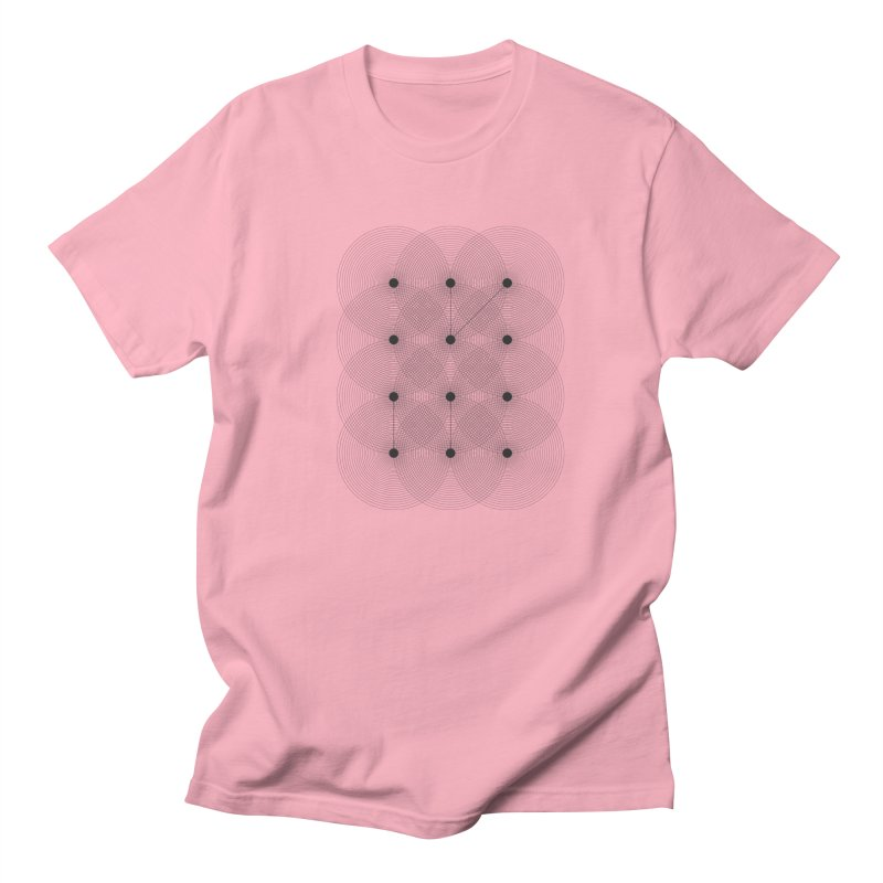 geometrical distortion 1 Men's T-Shirt by virbia's Artist Shop