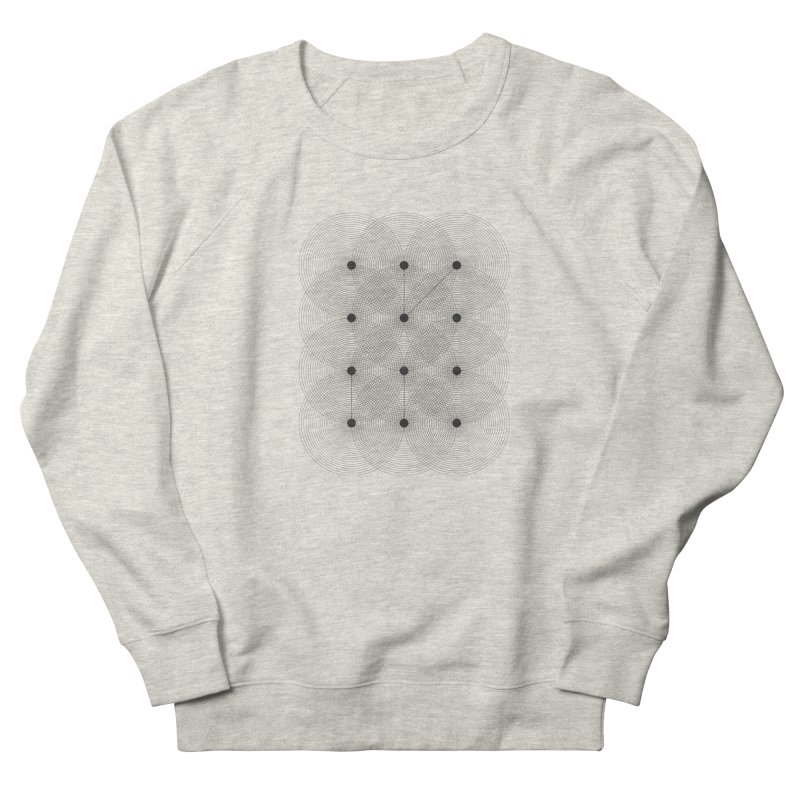 geometrical distortion 1 Men's Sweatshirt by virbia's Artist Shop