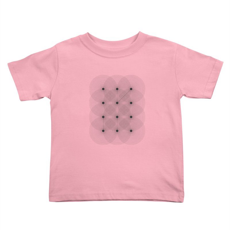 geometrical distortion 1 Kids Toddler T-Shirt by virbia's Artist Shop