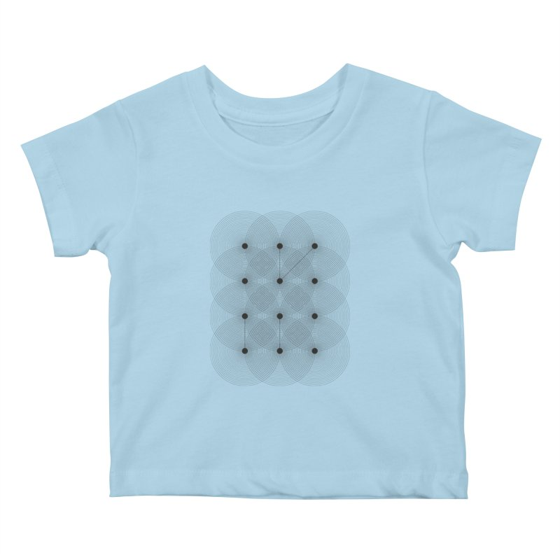 geometrical distortion 1 Kids Baby T-Shirt by virbia's Artist Shop