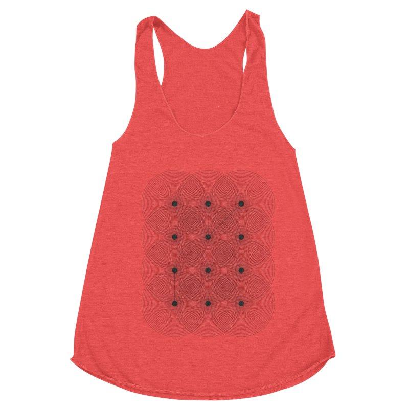 geometrical distortion 1 Women's Tank by virbia's Artist Shop