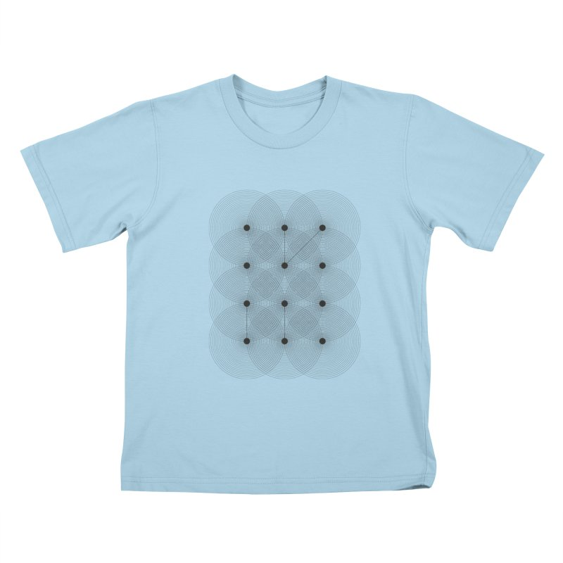 geometrical distortion 1 Kids T-Shirt by virbia's Artist Shop