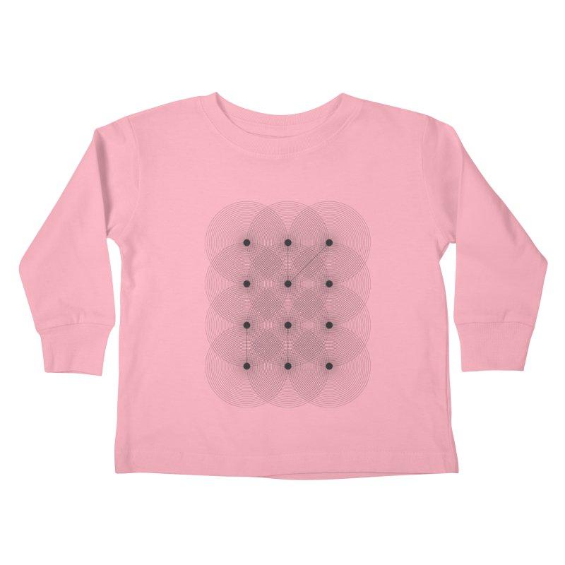 geometrical distortion 1 Kids Toddler Longsleeve T-Shirt by virbia's Artist Shop