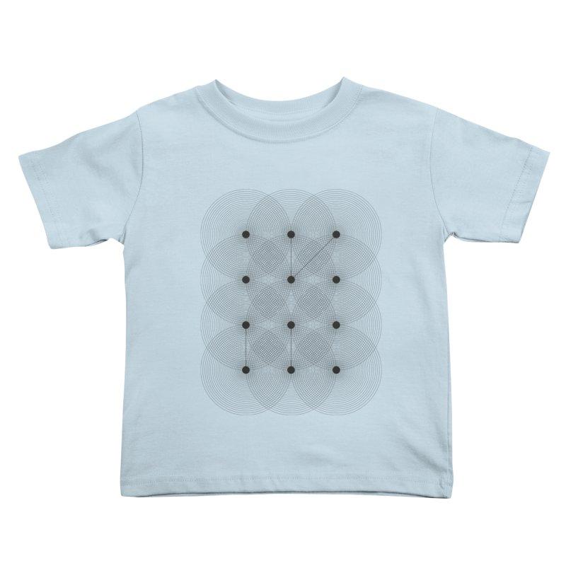 geometrical distortion 1 Kids Toddler T-Shirt by virbia's Artist Shop