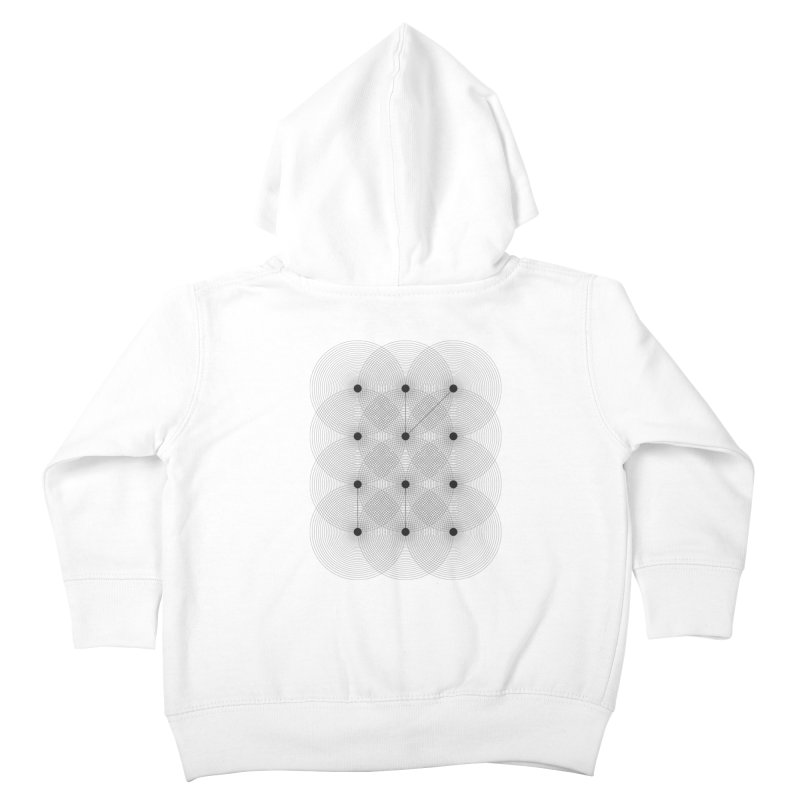 geometrical distortion 1 Kids Toddler Zip-Up Hoody by virbia's Artist Shop