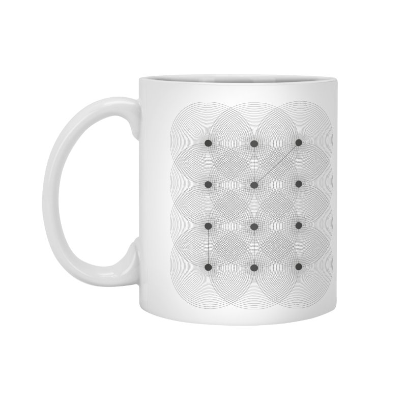 geometrical distortion 1 Accessories Standard Mug by virbia's Artist Shop