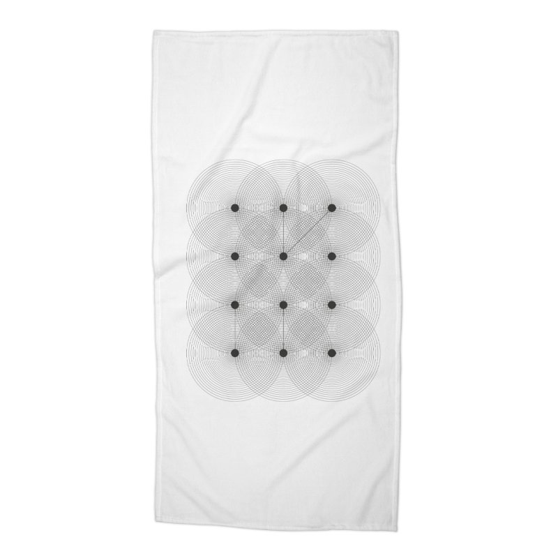 geometrical distortion 1 Accessories Beach Towel by virbia's Artist Shop
