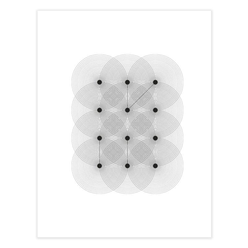 geometrical distortion 1 Home Fine Art Print by virbia's Artist Shop