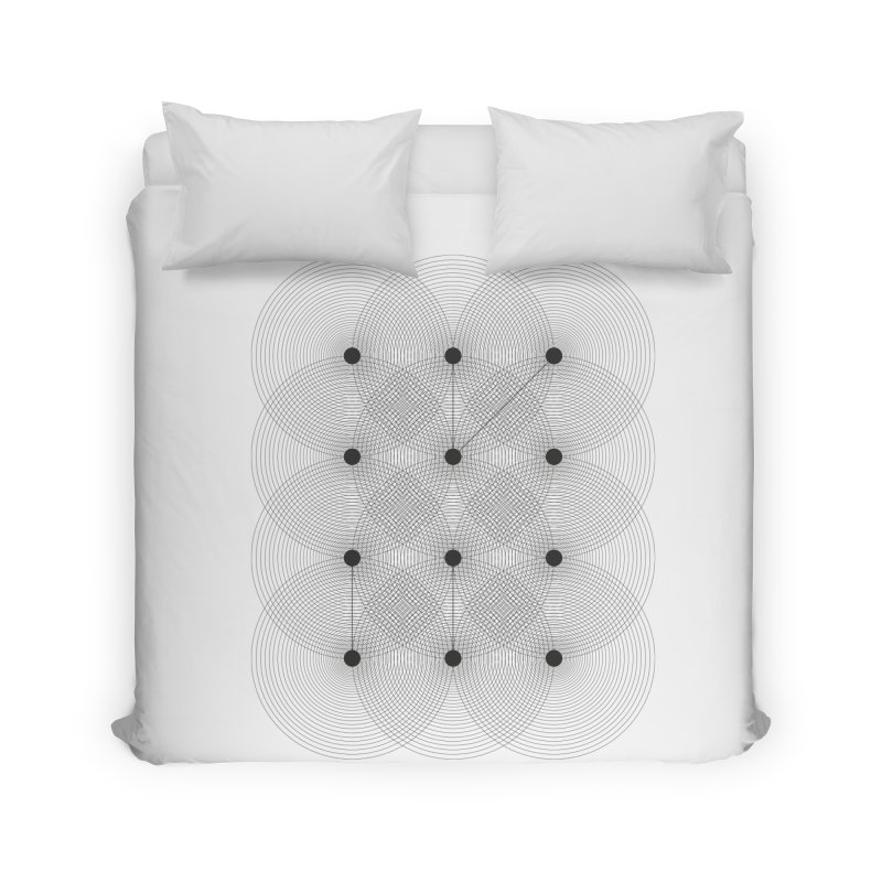geometrical distortion 1 Home Duvet by virbia's Artist Shop