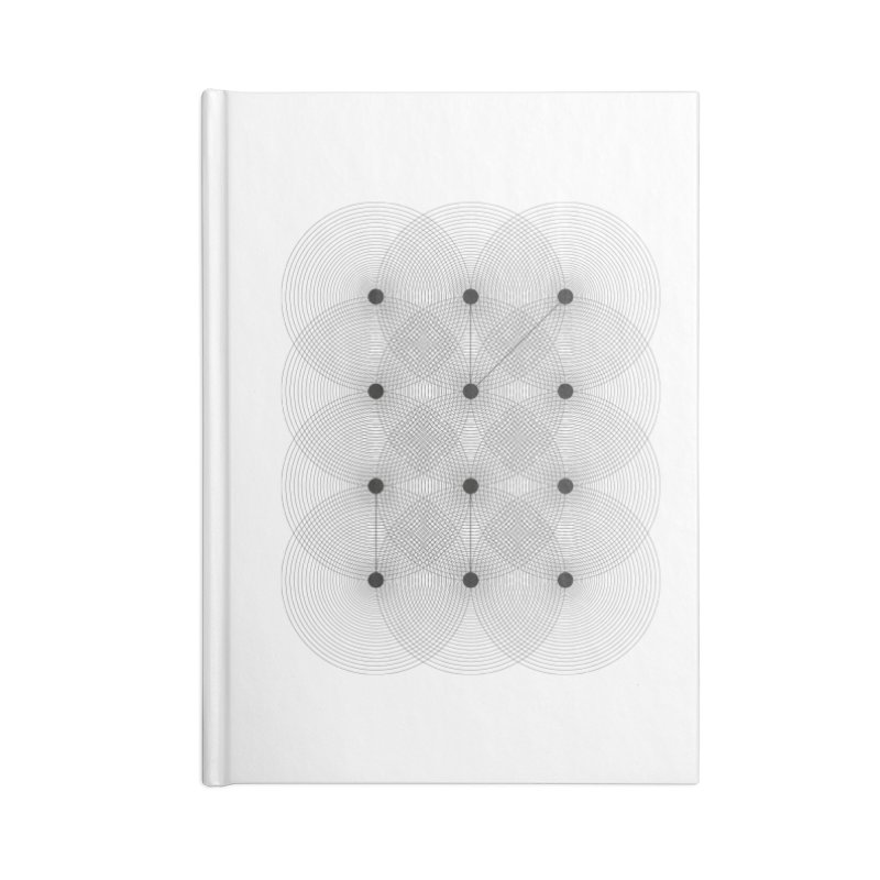 geometrical distortion 1 Accessories Lined Journal Notebook by virbia's Artist Shop