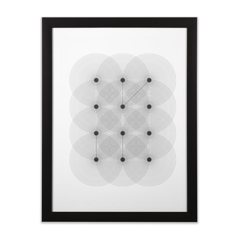 geometrical distortion 1 Home Framed Fine Art Print by virbia's Artist Shop