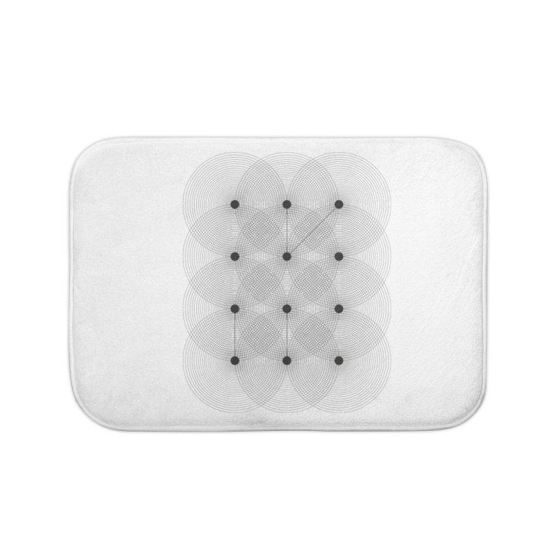 geometrical distortion 1 Home Bath Mat by virbia's Artist Shop