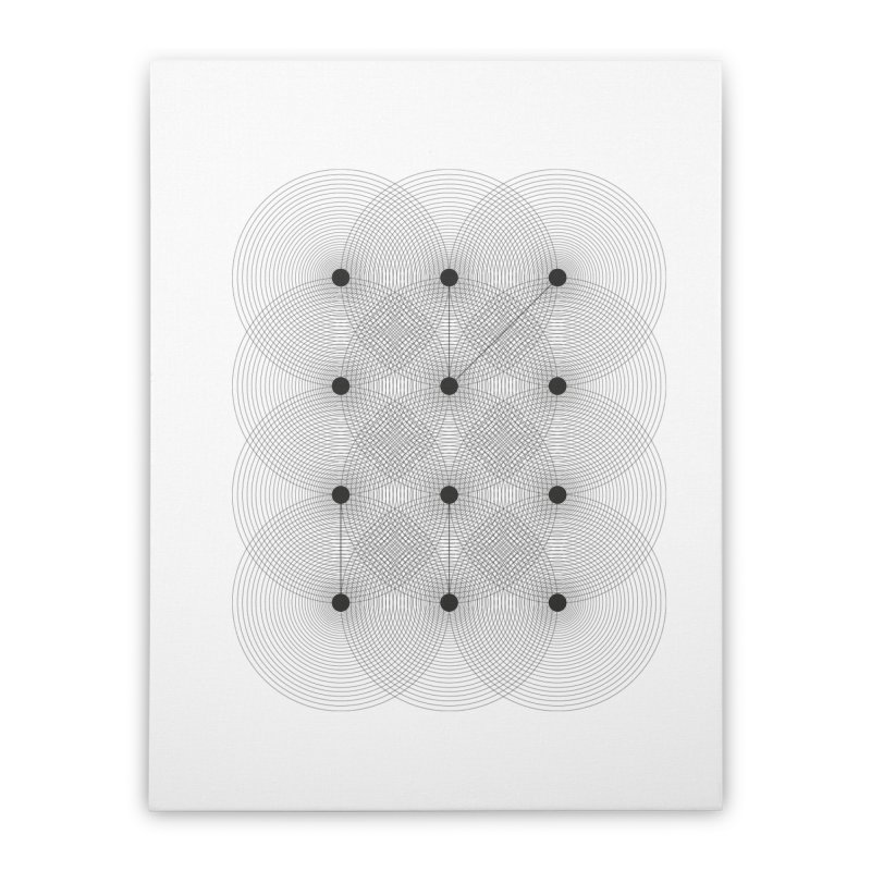geometrical distortion 1 Home Stretched Canvas by virbia's Artist Shop