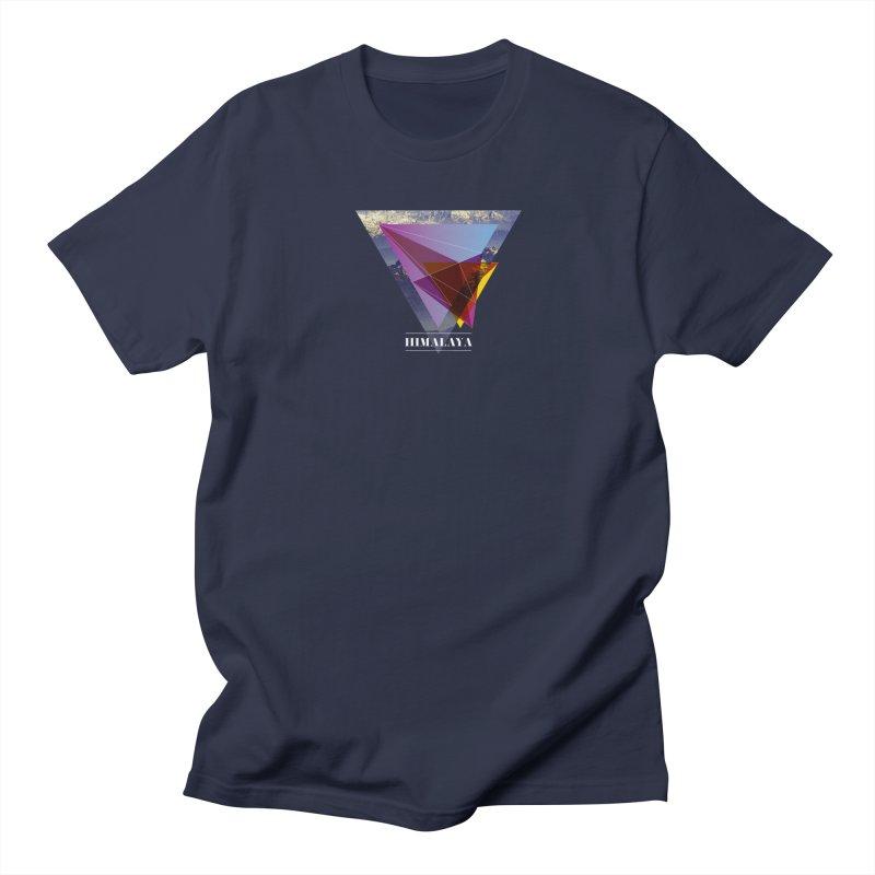 Himalaya Men's T-Shirt by virbia's Artist Shop