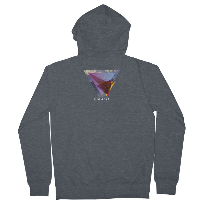 Himalaya Women's French Terry Zip-Up Hoody by virbia's Artist Shop