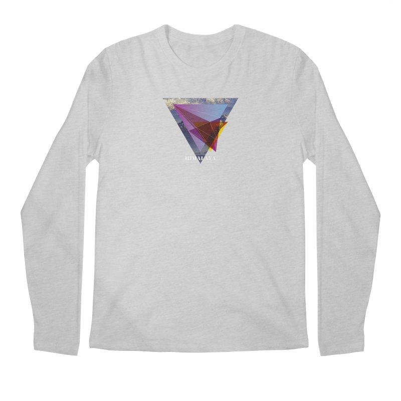 Himalaya Men's Regular Longsleeve T-Shirt by virbia's Artist Shop