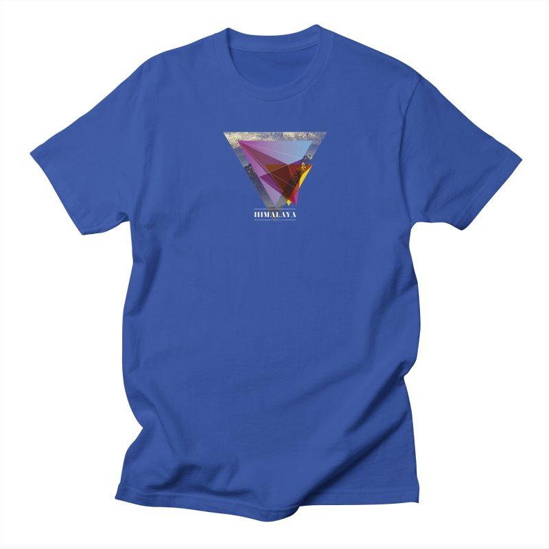Himalaya Men's Regular T-Shirt by virbia's Artist Shop