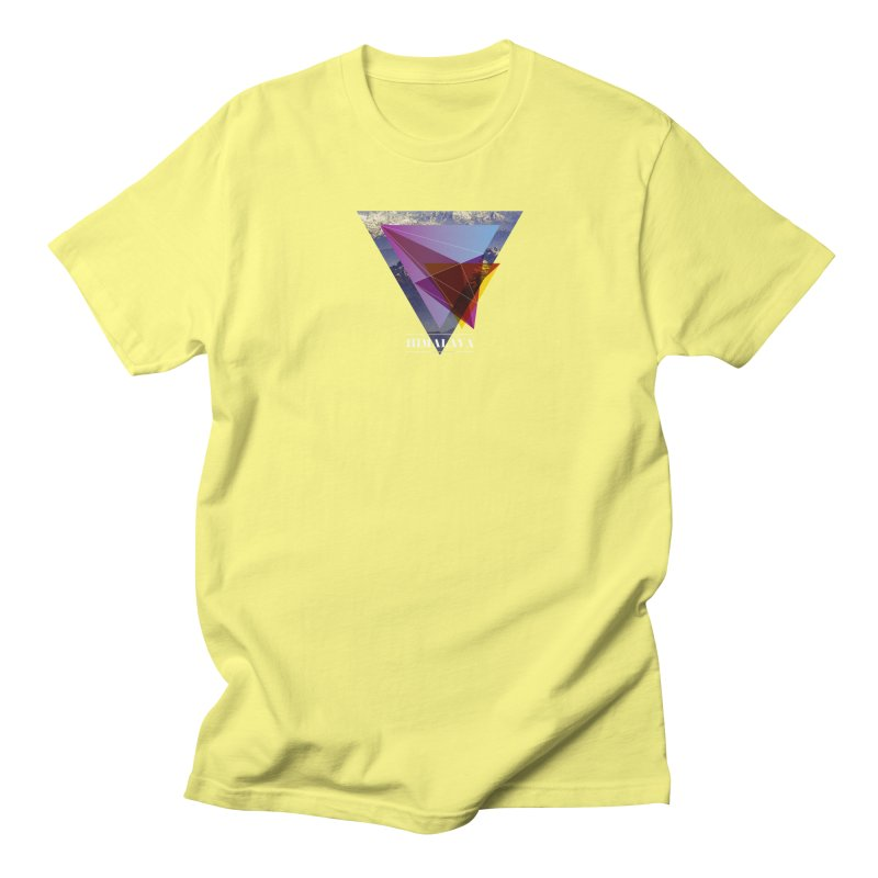 Himalaya Men's Regular T-Shirt by virbia's Artist Shop