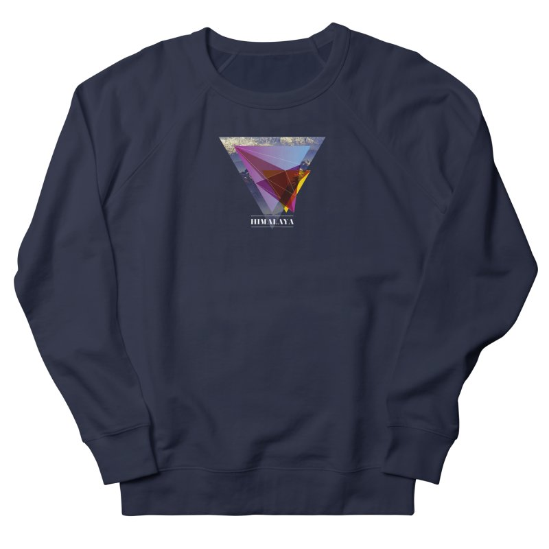 Himalaya Men's French Terry Sweatshirt by virbia's Artist Shop