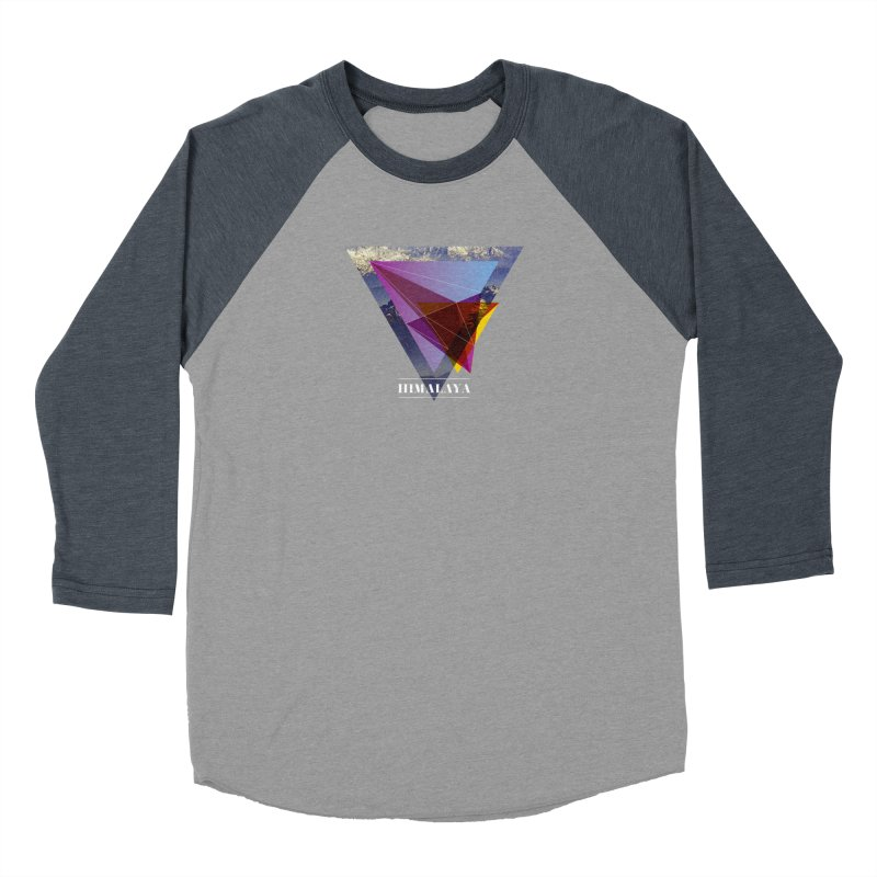 Himalaya Men's Baseball Triblend Longsleeve T-Shirt by virbia's Artist Shop