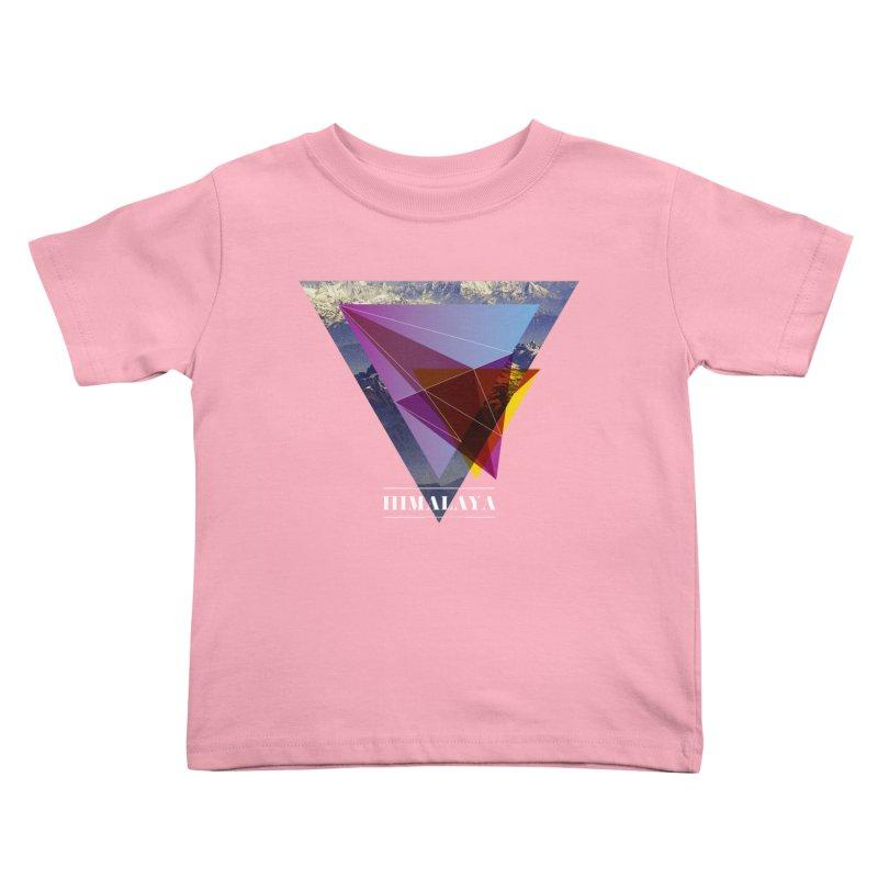 Himalaya Kids Toddler T-Shirt by virbia's Artist Shop