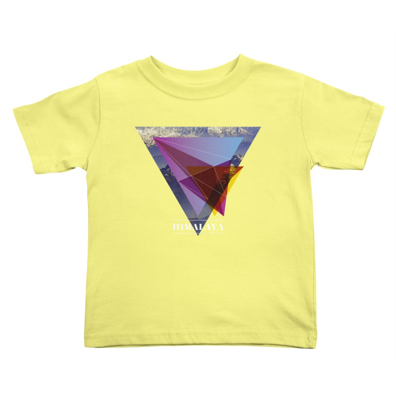Himalaya Kids Toddler T-Shirt by virbia's Artist Shop