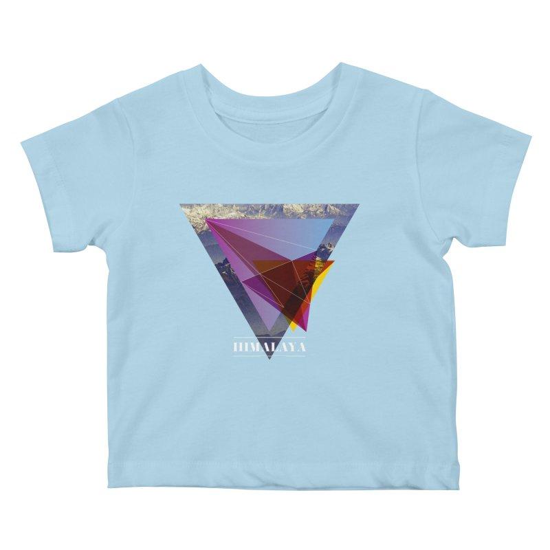 Himalaya Kids Baby T-Shirt by virbia's Artist Shop