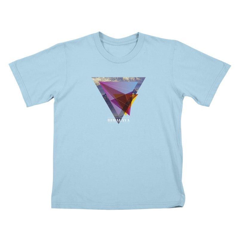 Himalaya Kids T-Shirt by virbia's Artist Shop