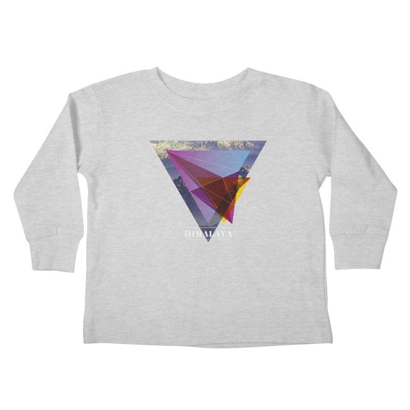 Himalaya Kids Toddler Longsleeve T-Shirt by virbia's Artist Shop