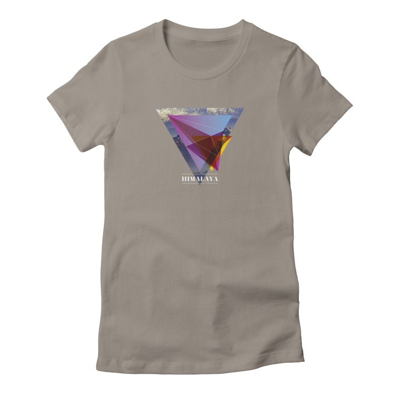 Himalaya Women's T-Shirt by virbia's Artist Shop