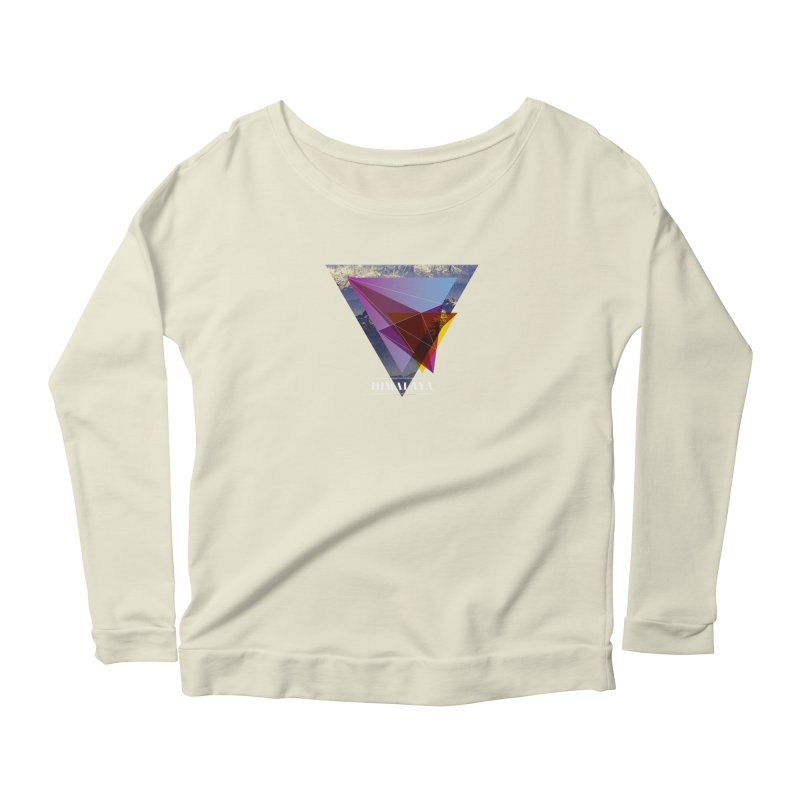 Himalaya Women's Scoop Neck Longsleeve T-Shirt by virbia's Artist Shop