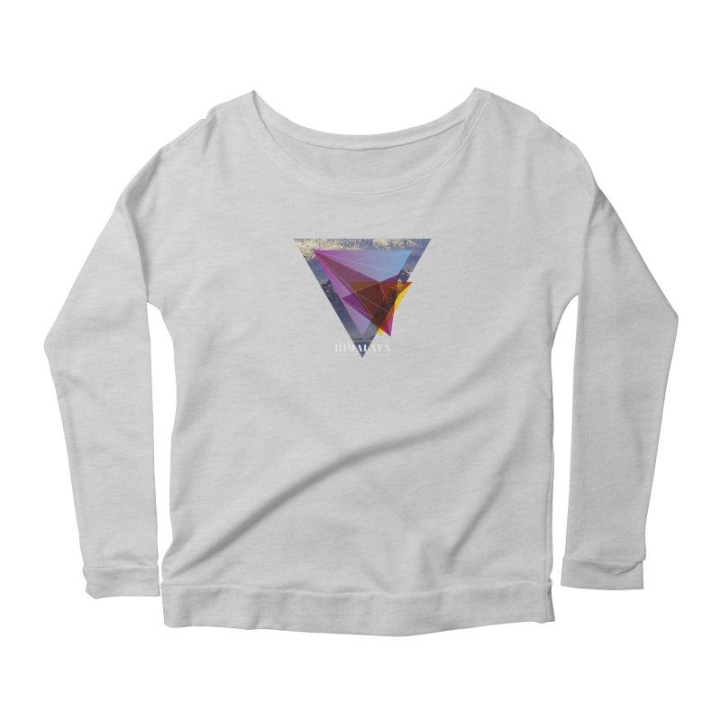 Himalaya Women's Scoop Neck Longsleeve T-Shirt by virbia's Artist Shop