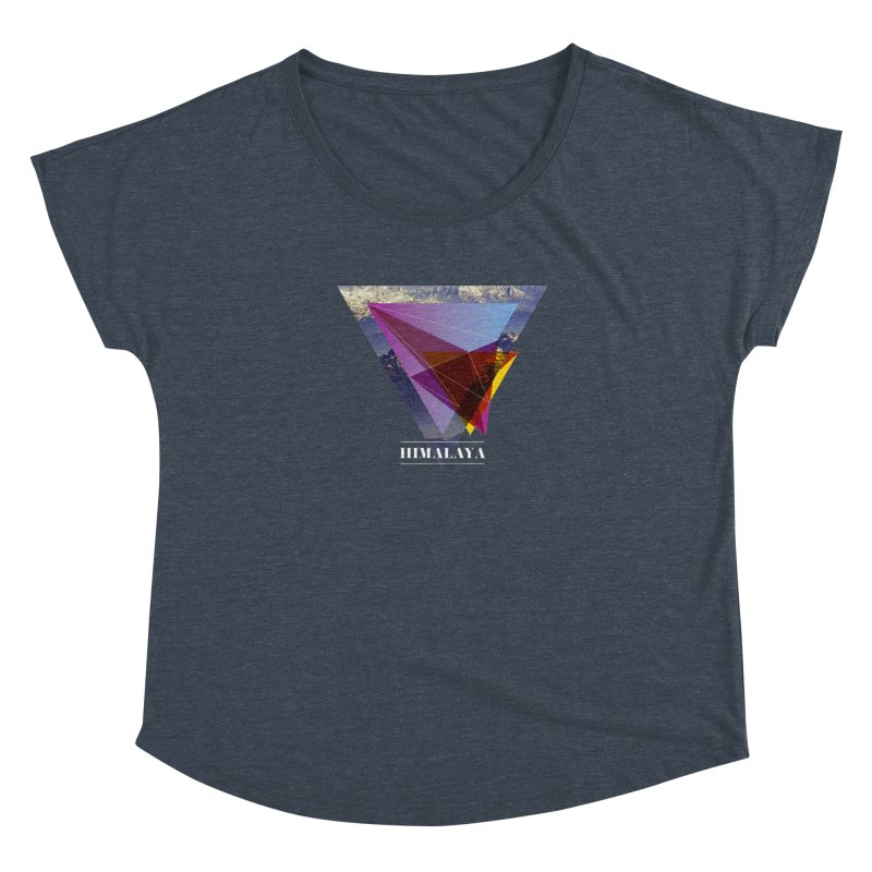 Himalaya Women's Scoop Neck by virbia's Artist Shop