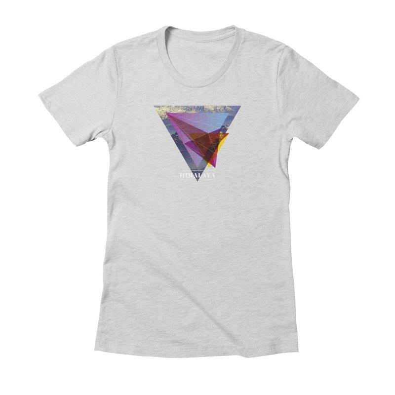 Himalaya Women's T-Shirt by virbia's Artist Shop