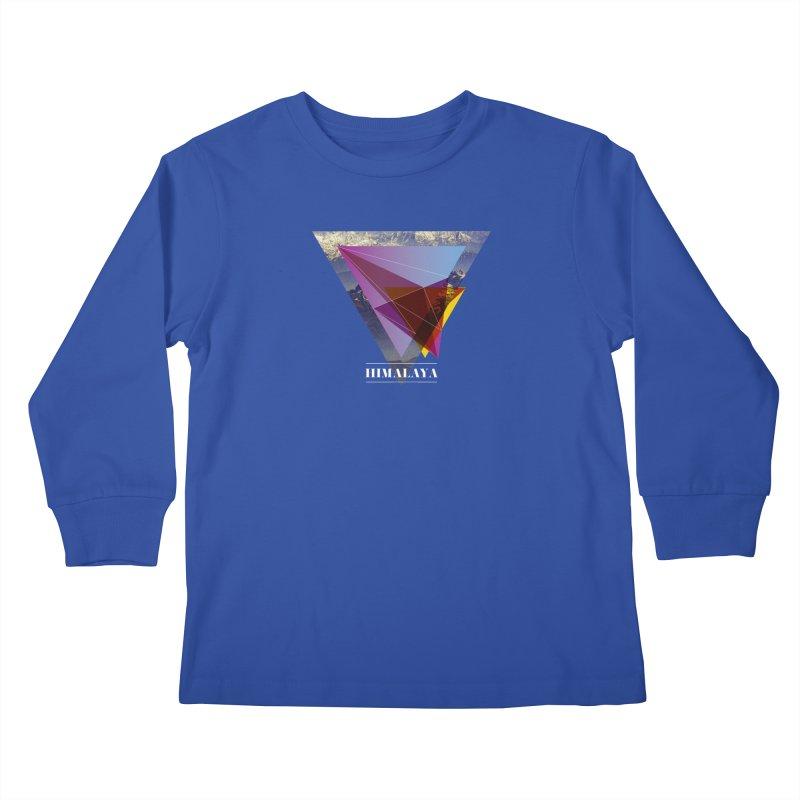 Himalaya Kids Longsleeve T-Shirt by virbia's Artist Shop