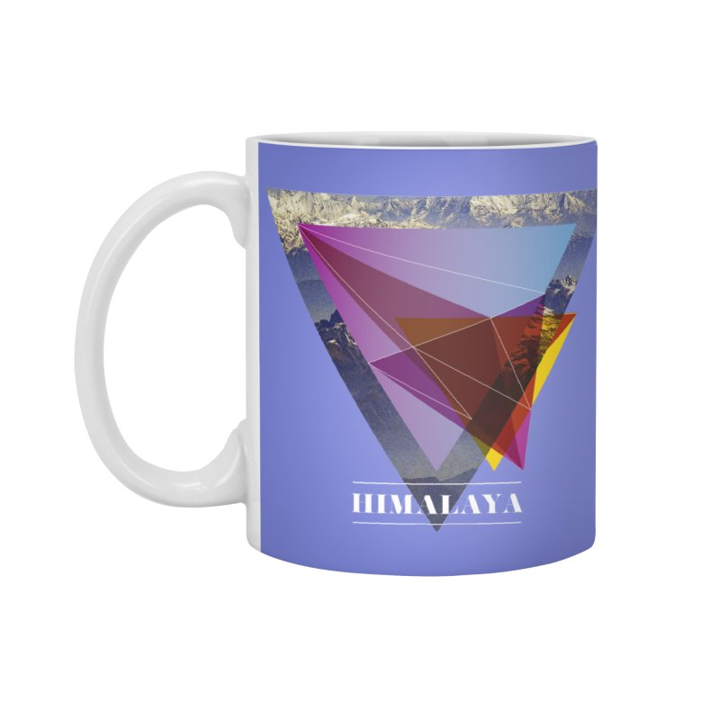 Himalaya Accessories Standard Mug by virbia's Artist Shop