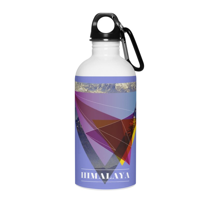 Himalaya Accessories Water Bottle by virbia's Artist Shop
