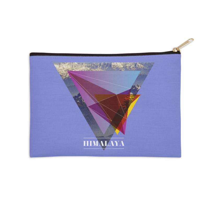 Himalaya Accessories Zip Pouch by virbia's Artist Shop
