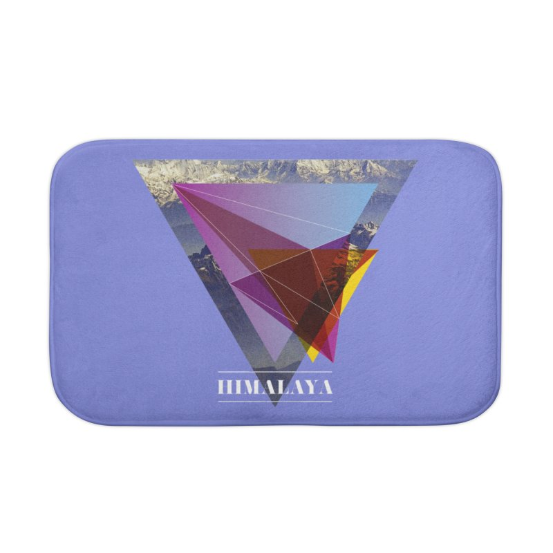 Himalaya Home Bath Mat by virbia's Artist Shop