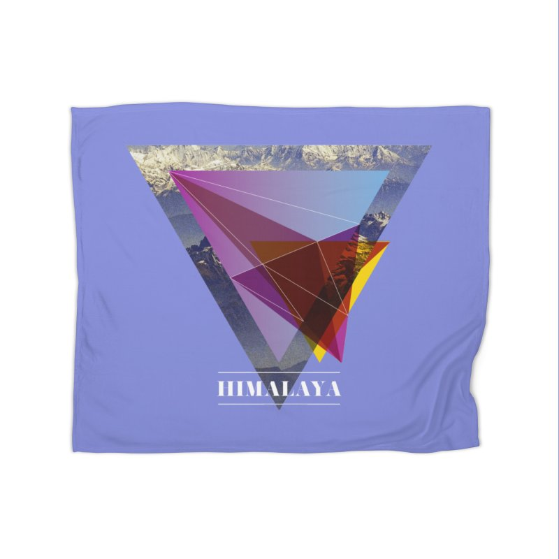 Himalaya Home Blanket by virbia's Artist Shop