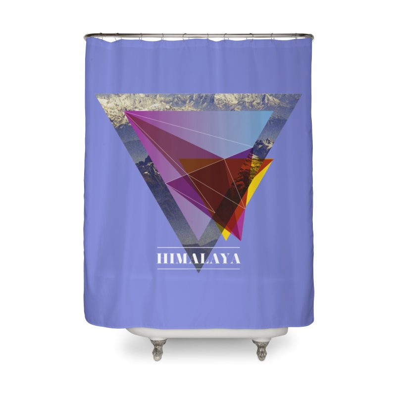 Himalaya Home Shower Curtain by virbia's Artist Shop