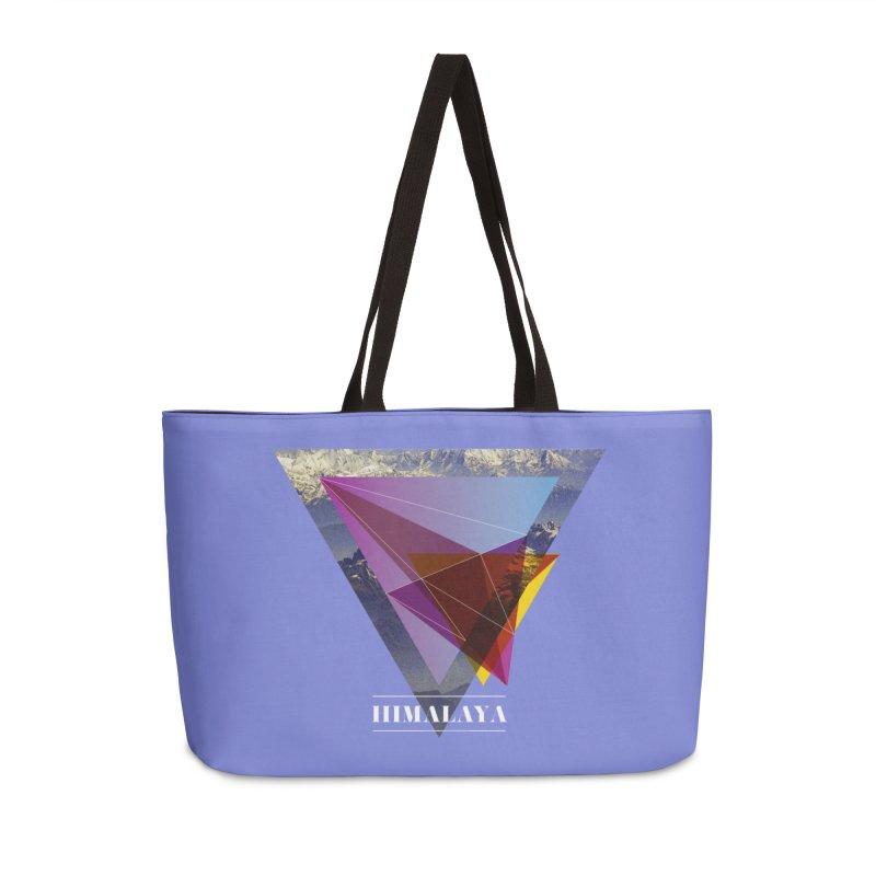 Himalaya Accessories Weekender Bag Bag by virbia's Artist Shop