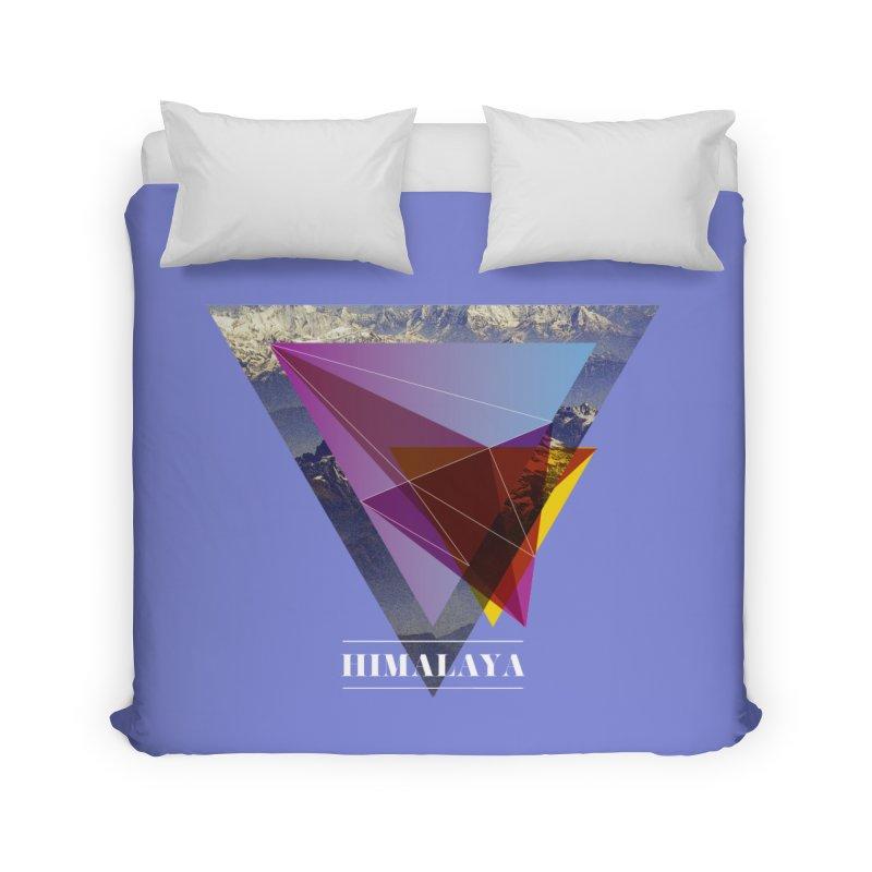 Himalaya Home Duvet by virbia's Artist Shop