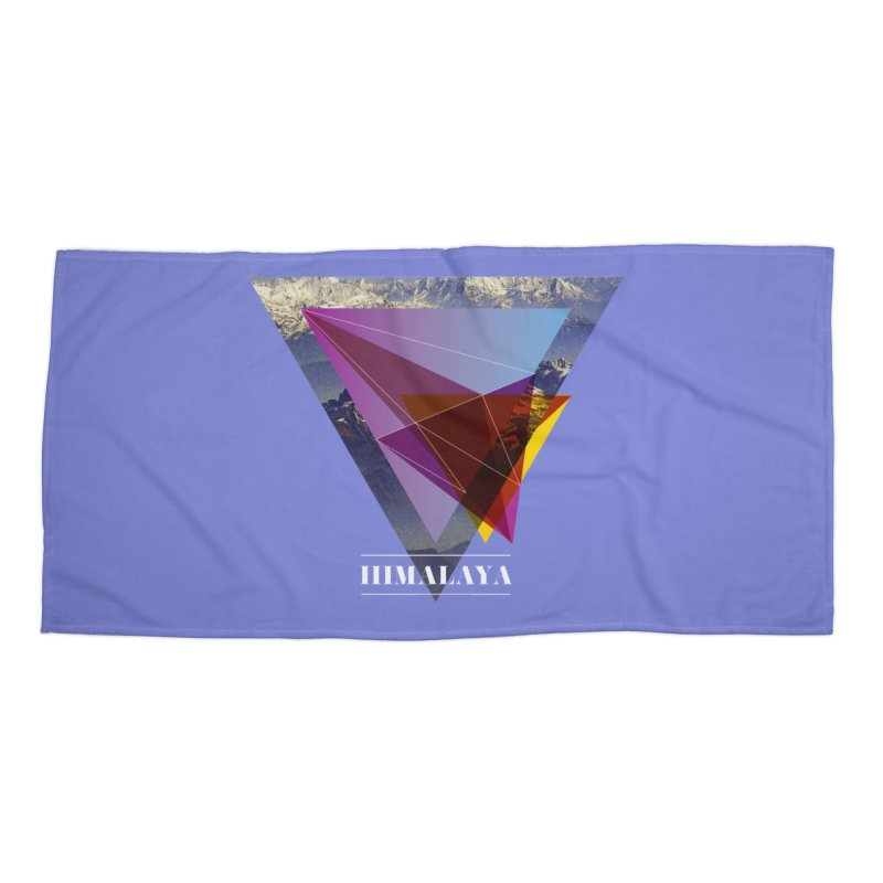 Himalaya Accessories Beach Towel by virbia's Artist Shop