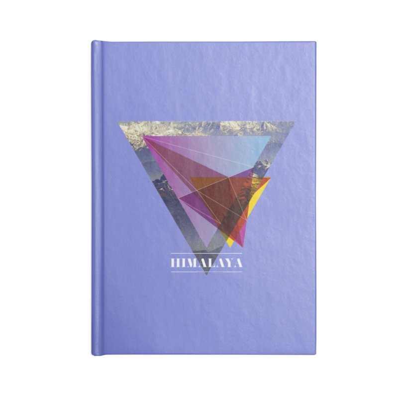 Himalaya Accessories Lined Journal Notebook by virbia's Artist Shop