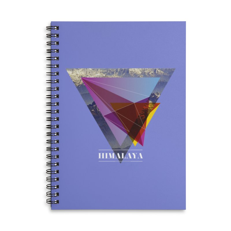 Himalaya Accessories Lined Spiral Notebook by virbia's Artist Shop