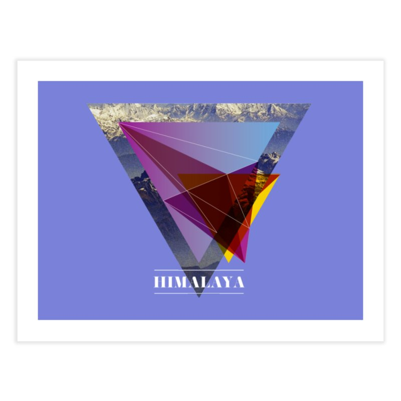 Himalaya Home Fine Art Print by virbia's Artist Shop