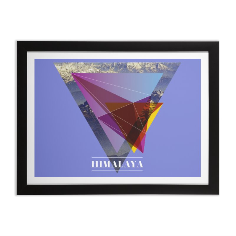 Himalaya Home Framed Fine Art Print by virbia's Artist Shop