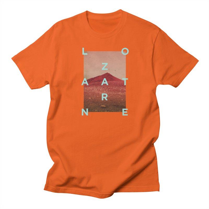 Lanzarote Canarian Island Men's T-Shirt by virbia's Artist Shop