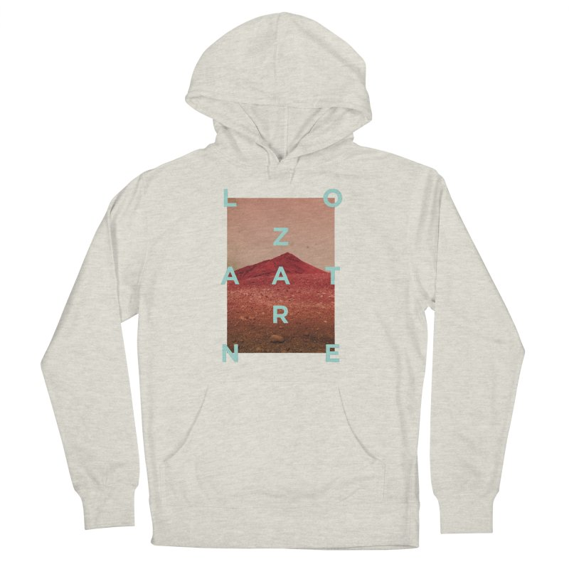 Lanzarote Canarian Island Men's French Terry Pullover Hoody by virbia's Artist Shop